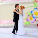 """""""Our Wedding Moment"""" Resin Wedding Cake Topper"""