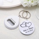 Personalized Plastic Keychains/Bottle Opener (Set of 5)