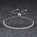 Exquisite Silver Ladies' Fashion Bracelets