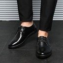 Men's Real Leather Lace-up Dress Shoes Work Men's Oxfords
