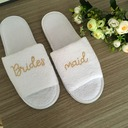 Bridesmaid Gifts - Fashion Velvet Cloth Slippers