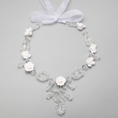 Gorgeous Alloy/Crystal Ladies' Necklaces