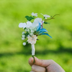 Nice Plastic Boutonniere