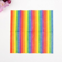 Beautiful Rainbow Dinner Napkins