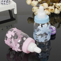 Classic/Lovely Bottle shaped Plastic Candy Jars and Bottles