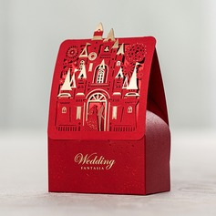 Vintage Other Card Paper Favor Boxes