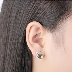 Charming Alloy/Crystal With Crystal Earrings