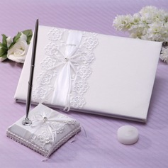 Pretty Bow Guestbook & Pen Set