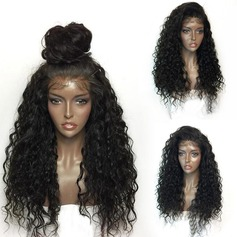 Curly Capless Synthetic Wigs With Baby Hair