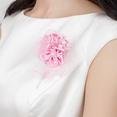 Special Free-Form Satin Boutonniere