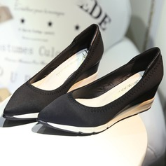 Women's Satin Wedge Heel Wedges shoes