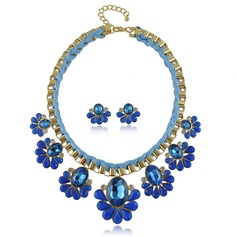 Beautiful Alloy Cotton String With Acrylic Ladies' Jewelry Sets