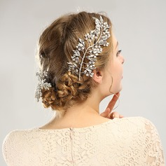 Classic Alloy Hairpins With Rhinestone