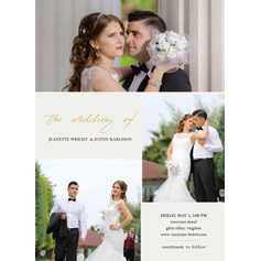Exclusive Wonderland Wedding Cards