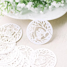 Love Bird Pearl Paper Place Cards