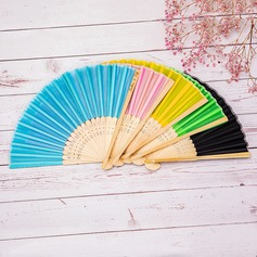 Bridesmaid Gifts - Personalized Beautiful Classic Wooden Hand Fan (Sold in a single piece)