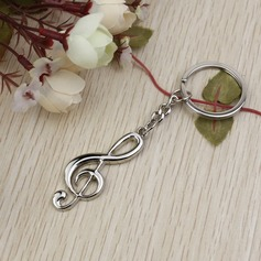 "Classic ""Melody Of Our Love"" Zinc alloy Keychains"