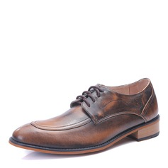 Mannen Microfiber Leer Vastrijgen U-Tip Kleding schoenen Klassieke schoenen voor heren
