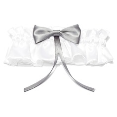 Classic Satin With Bowknot Wedding Garters