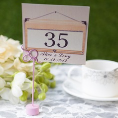 Personalized Unique Card Paper Table Number Cards