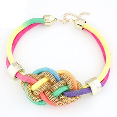 Colourful Basketwork Girls' Fashion Necklace