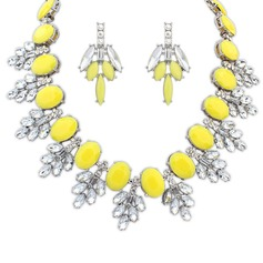 Fashional Alloy Resin Women's Jewelry Sets
