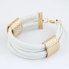 Beautiful Alloy Leatherette Ladies' Fashion Bracelets