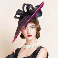 Ladies' Fashion Summer Cambric With Bowler/Cloche Hat