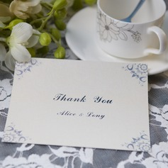 Personalized Classic Style Thank You Cards