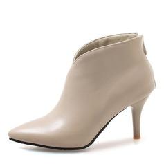 Vrouwen Kunstleer Stiletto Heel Pumps Laarzen Enkel Laarzen met Anderen schoenen