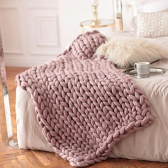 Modern/Contemporary simple pretty Polyester Blankets & Throws