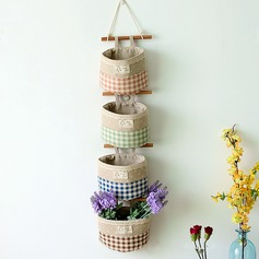 Traditional/Classic Linen Cotton Storage&Organization (Sold in a single piece)