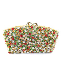 Classical Crystal/ Rhinestone/Alloy Clutches/Luxury Clutches
