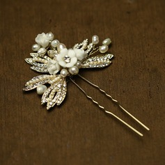 Beautiful Crystal/Freshwater Pearl Hairpins(Sold in single piece)