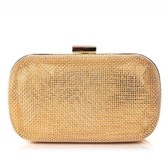 Gorgeous Metal/Polyester Clutches