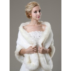 Faux Fur Fashion Wrap (013105221)