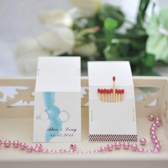 "Personalized ""Romance"" Hard Card Paper Matchboxes"