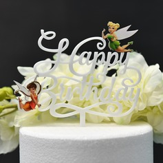 It's a Girl/It's a Boy/Happy Birthday Acrylic Cake Topper (Sold in a single piece)