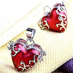 Heart Shaped Alloy DIY Jewelry (Sold in a single piece)