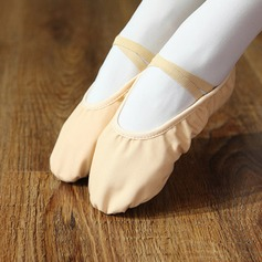 Women's Canvas Flats Ballet Dance Shoes