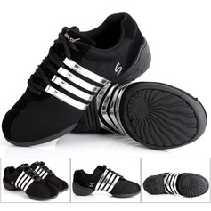 Women's Canvas Suede Sneakers Sneakers Dance Shoes