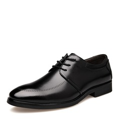 мужская кожа Cap Toes шнуровка Платья Men's Oxfords (259173585)