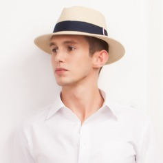 Men's Classic Summer Papyrus With Straw Hat