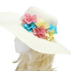 Colorful Imported Paper/Rattan Straw Flowers & Feathers
