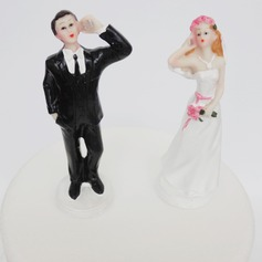 Classic Couple Resin Cake Topper