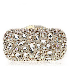 Unique Crystal/ Rhinestone Wristlets/Bridal Purse/Luxury Clutches (012069703)