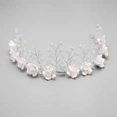 Simple/Charming Crystal/Alloy/Ceramic Headbands