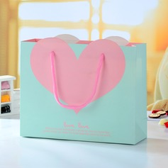 Pink Heart Favor Boxes