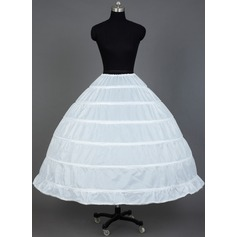 Women Nylon Tea-length 1 Tier  Petticoats (037031007)