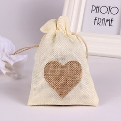 Lovely/Heart style Handbag shaped Linen Favor Bags